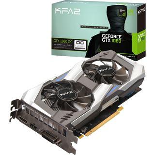 6GB KFA2 GeForce GTX 1060 OC Aktiv im Mindstar