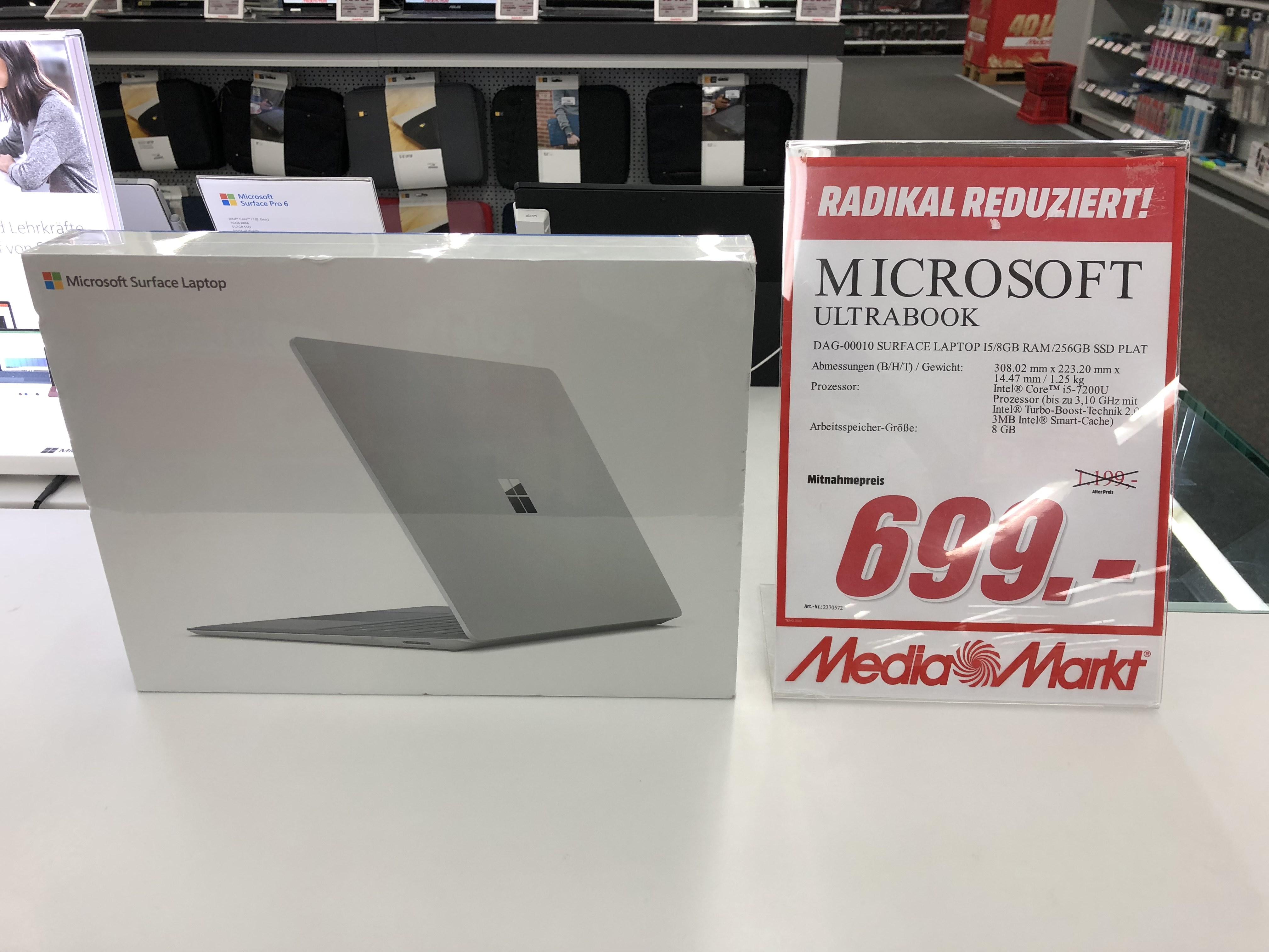 [lokal HH-Altona] Surface Laptop i5, 256 GB SSD & 8 GB RAM