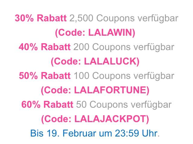 [Lalalab.com] Fotoausdrucke bis zu 60% Rabatt - limitiertes Angebot
