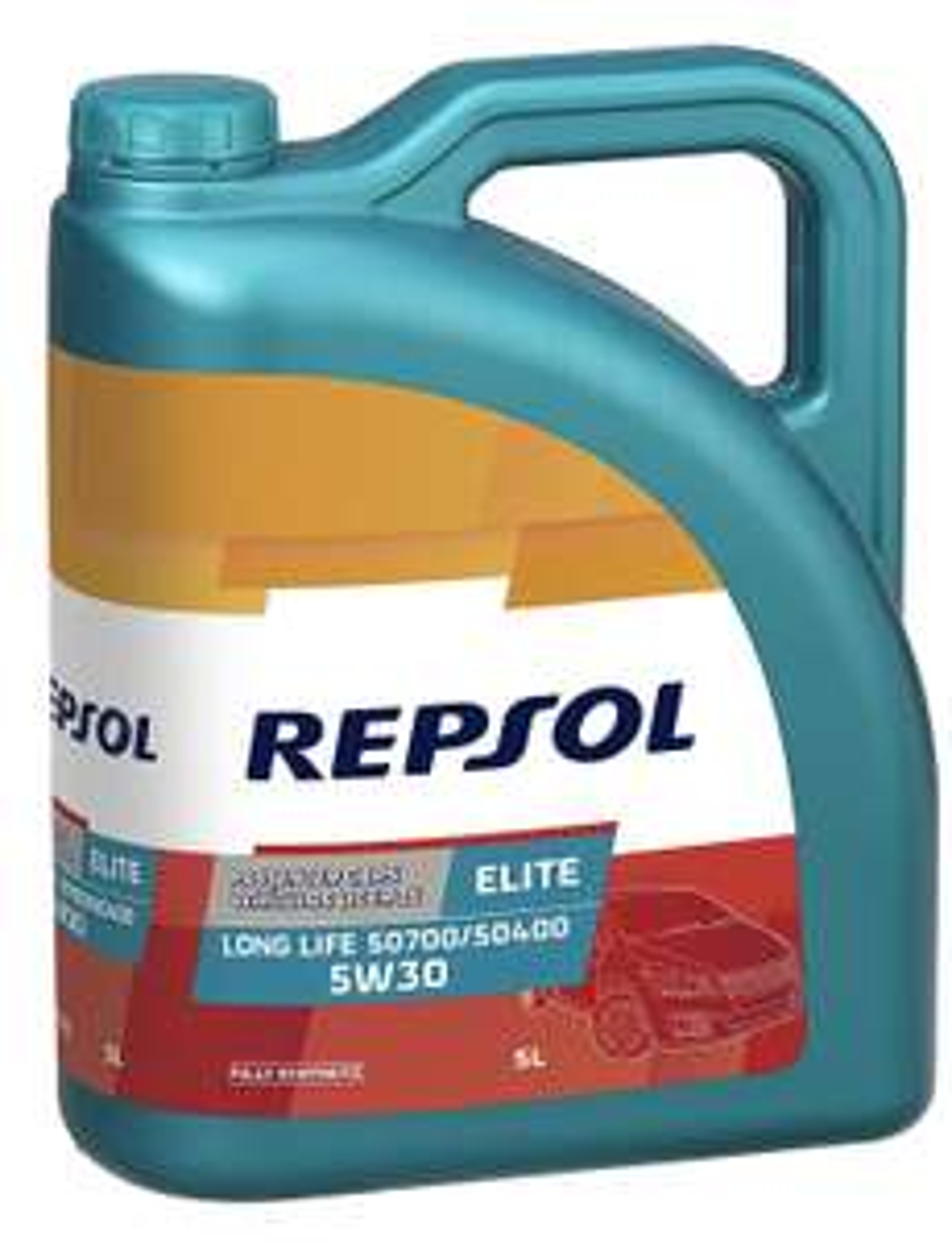 REPSOL MOTORÖL ELITE LONG LIFE 50700/50400 5W-30 5 Liter