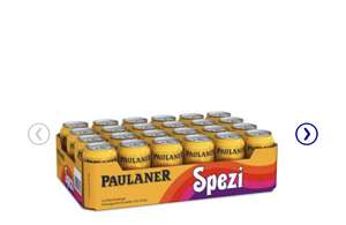 Paulaner Spezi 24x 0,33l Dosen inkl 6€ Pfand. zzgl. Versand
