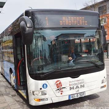 [Burghausen] City-Bus ab März bis Ende 2019 kostenlos nutzen (Samstag + Sonn- & Feiertage)