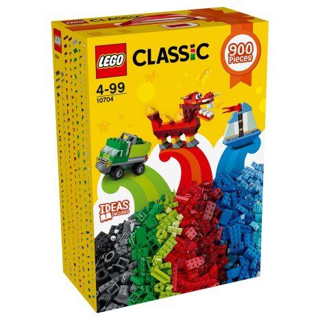 2 Stück LEGO Classic  Kreativ-Steinebox 10704 (2x 900 Steine) für 46,90€ [interspar.at]