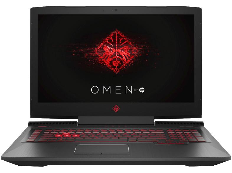 HP Omen 17-AN136NG, i7 8750H, 16 GB RAM, 1 TB HDD, 256 GB SSD, GeForce GTX 1070, 144HZ IPS