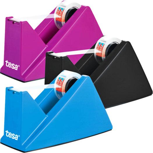 tesa Tischabroller in blau, schwarz oder pink für 1,99 € bei ( ALDI Nord ab 25.02.)