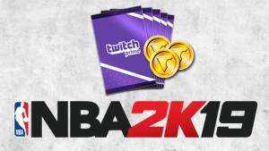 NBA 2K19 25.000 VC-Pack & 5 MyTEAM-Packs (Xbox One & PS4 & Switch & PC) kostenlos (Twitch Prime)