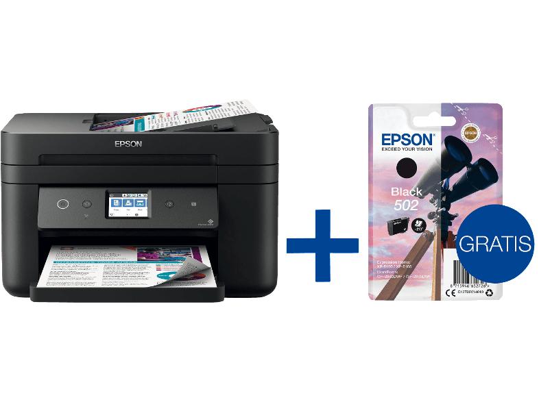 EPSON Epson WorkForce WF-2860DWF - (Farbe) inkl. Patrone Tintenstrahl Faxgerät / Kopierer / Drucker / Scanner WLAN Netzwerkfähig