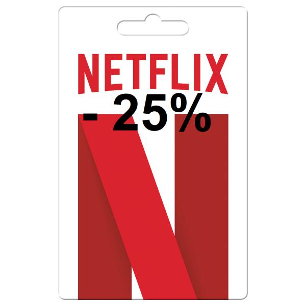 Netflix Guthaben 50€ für 40€ - 20% bzw. 40€ für 30€ - 25% (Interspar.at)