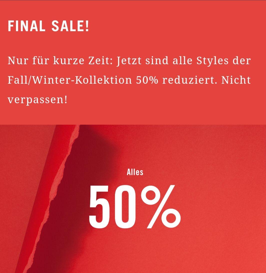 50% Rabatt auf alle Artikel im Sale im Marc O'Polo Online Shop