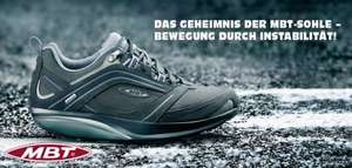 Verschiedene MBT Schuhe bewegung durch Instabilität ! (sonst liegt man auf der Nase)