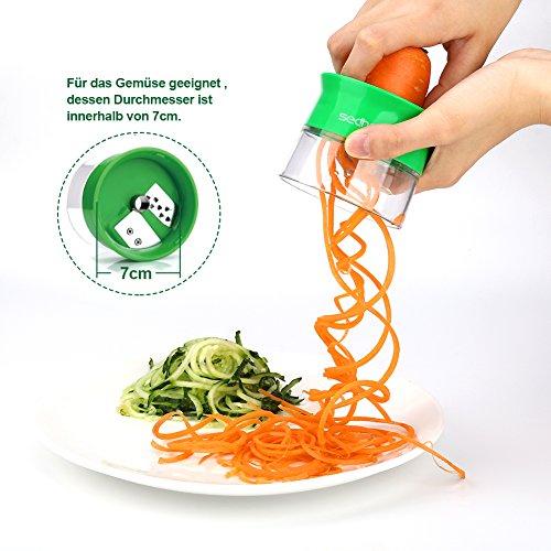 Sedhoom Spiralschneider für Gemüse