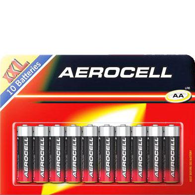 10 x Aerocell Batterien für nur 1,59€ bei ( Lidl )