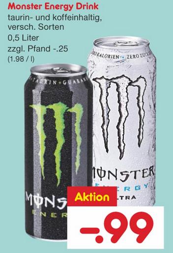 [NETTO] Monster Energy