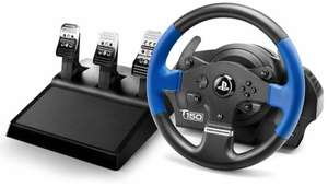 Thrustmaster T150 RS PRO (Lenkrad für Playstation 4 inkl. 3-Pedalset, Force Feedback PS4, PS3, PC)