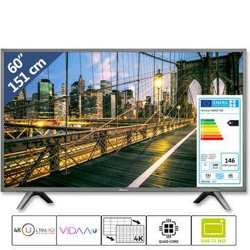 """Hisense 60"""" 151 cm 4K Ultra HD TV H60N5708, HDR, smart TV, LED TV,"""