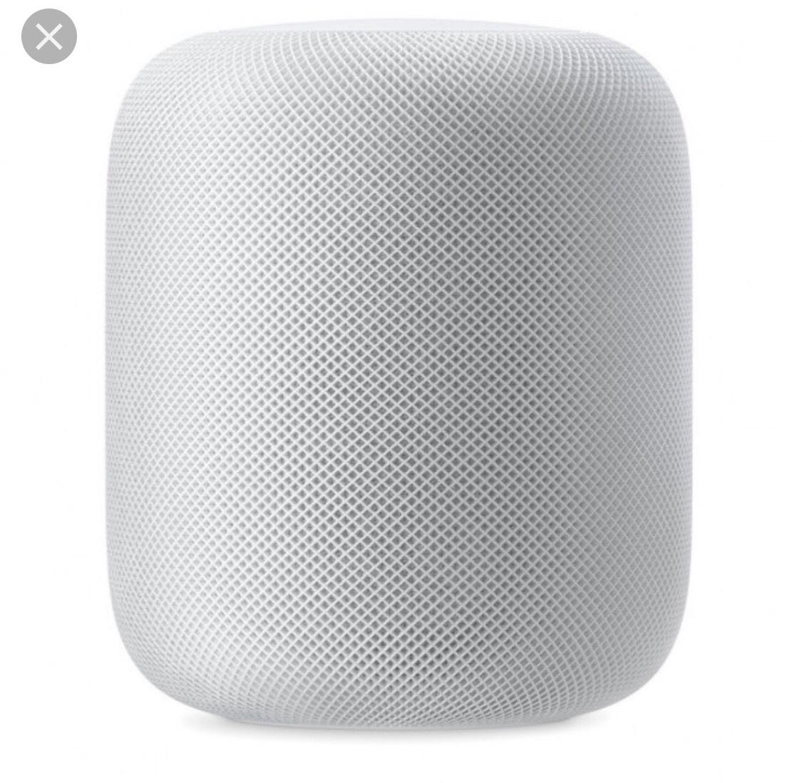 Apple HomePod in weiß nur lokal