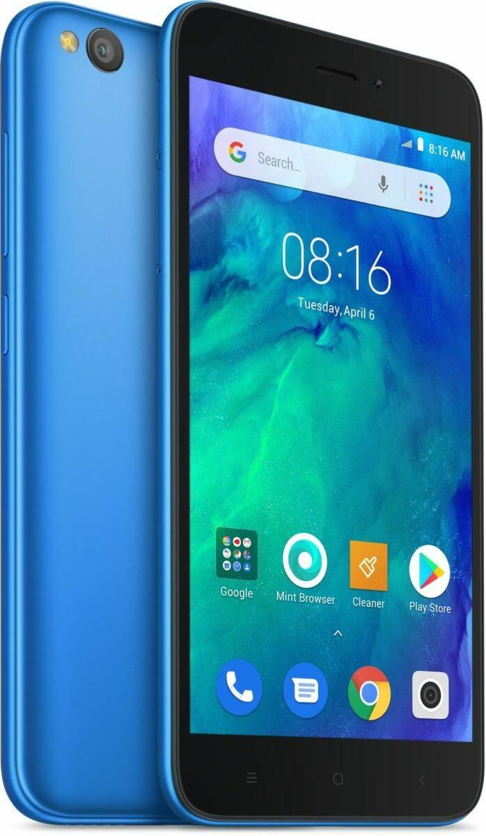 "Xiaomi Redmi Go 8/1GB - Snapdragon 425 - 5"" HD Display - 8+5MP - Klinkenanschluss - Dual SIM + MicroSD - Google Go | Global mit Band 20!"