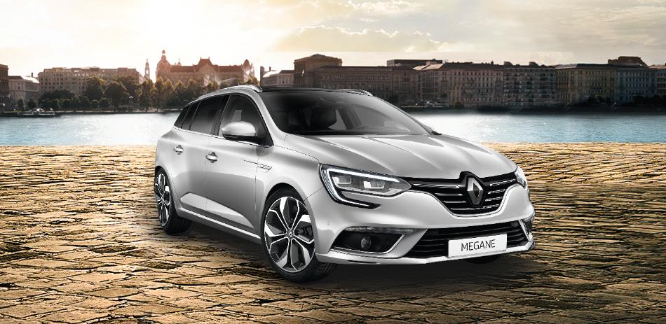Renault Mégane Grandtour (140 PS) für mtl. 99,- netto (117,81 brutto) - LF 0,43 / 15tkm p.a./ 12 Monate [Gewerbeleasing]