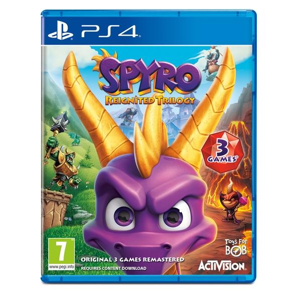 Shop4de - Spyro Reignited Trilogy (PS4) für 26,98€ inkl. Versand
