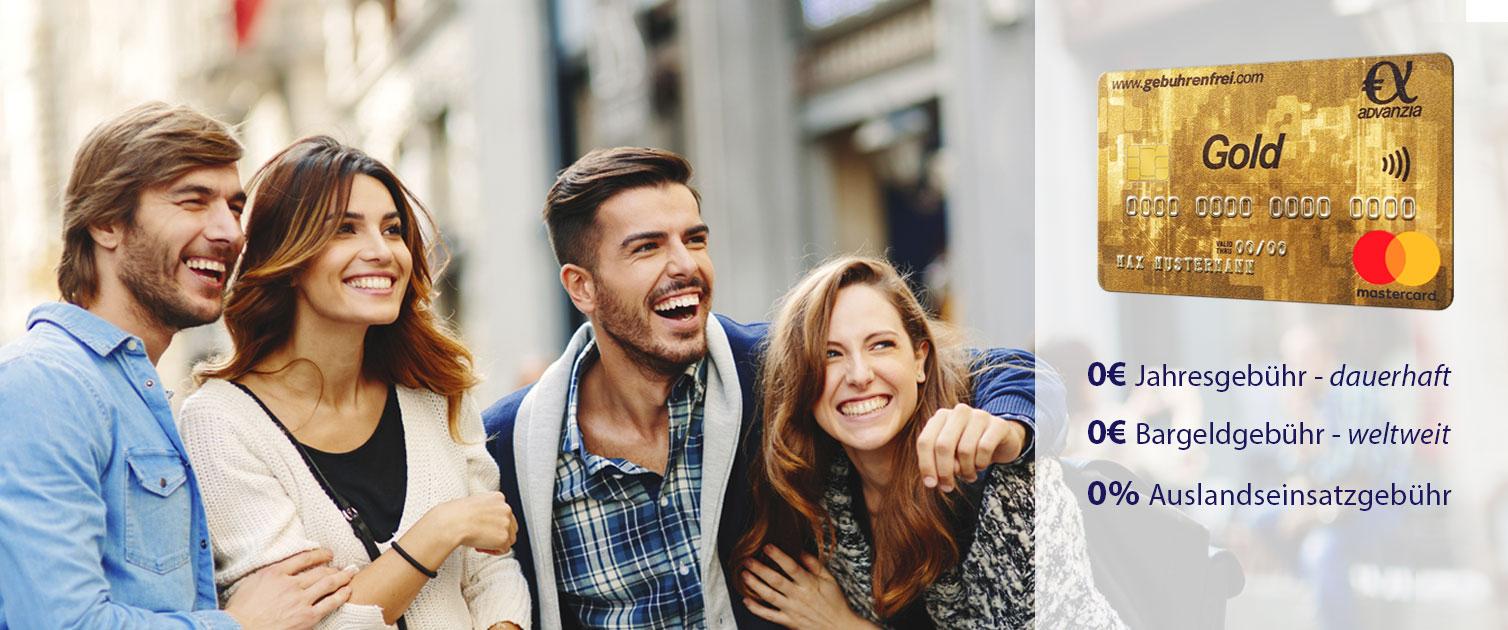 50€ Cashback für Neukunden bei der Advanzia gebührenfrei Mastercard Gold