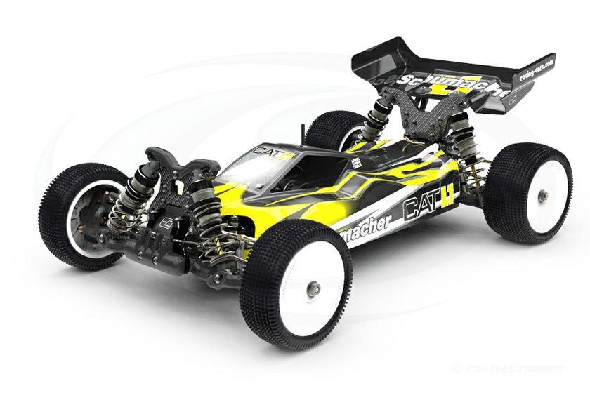 4WD 1/10 RC Wettbewerbsmodell Schumacher Cat L1 Bausatz