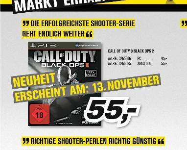 [Offline] Call of Duty: Black Ops 2 @ProMarkt