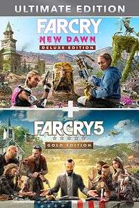 Far Cry 5 Gold Edition + Far Cry New Dawn Deluxe Edition Bundle (Xbox Live Store AR)