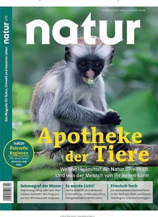 Natur Zeitschrift Abo (13 Ausgaben) für 72,35 € mit u.a. 75 € BestChoice Universalgutschein