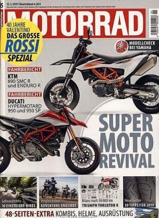 Motorrad Magazin Abo (26 Ausgaben) für 113,80 € mit 80 € BestChoice Universalgutschein