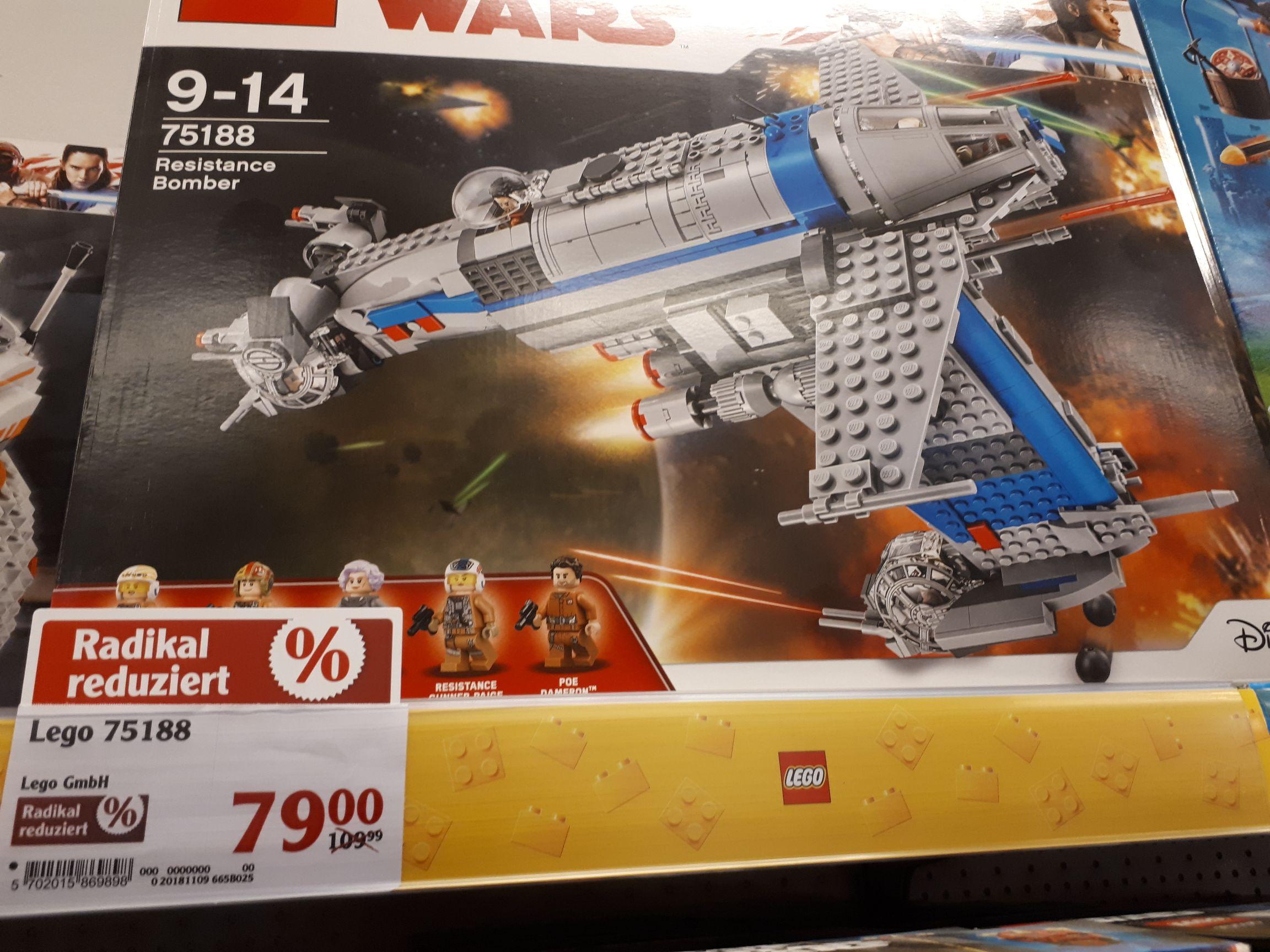LEGO STAR WARS Resistance Bomber 75188 LOKAL