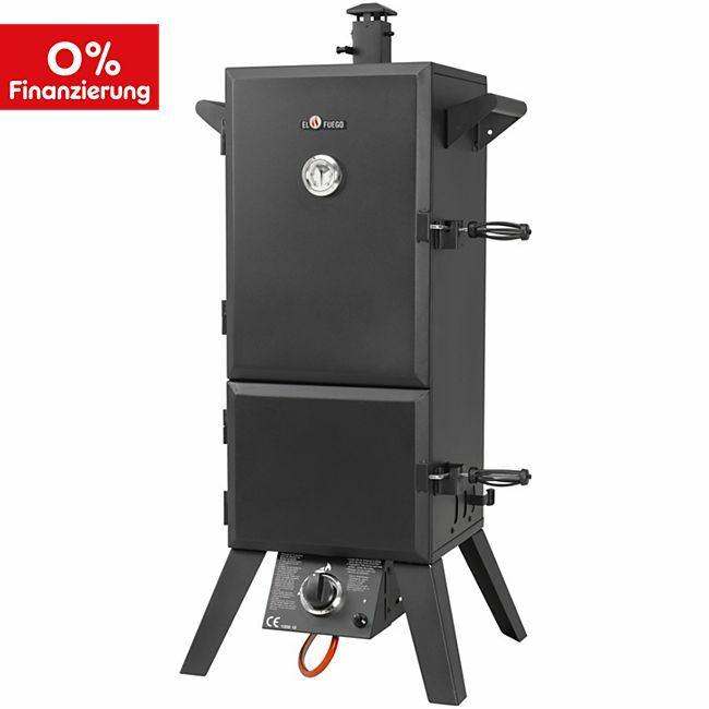 [Netto Online] El Fuego Portland XL Gas-Räuchergrill