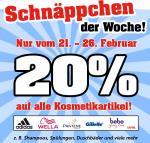 Thomas Philipps Onlineshop - 20 % auf alle Kosmetikartikel