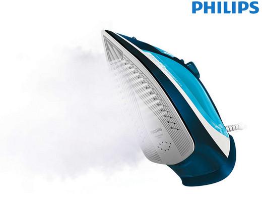 """Philips Dampfbügeleisen """"GC3582/20"""" (2400 Watt, 170 g/min, Sohlenmaterial Keramik, 2m-Kabel) [iBOOD]"""