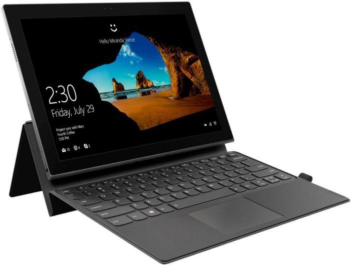"""Lenovo IdeaPad MIIX 630 12,3"""" FHD IPS (SD835, 8GB RAM, 128GB Flash, LTE, Win 10S, bel.Tastatur, USB-C, Windows Hello) inkl. Stift & Tastatur"""