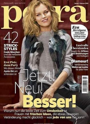 Jahresabo Petra (10 Ausgaben) für 26,50€ plus 18-teiliges Kaffeeservice von Villeroy & Boch im Wert von 43,20€ als Gratis-Prämie