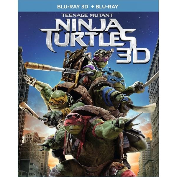 Teenage Mutant Ninja Turtles (3D Blu-ray + Blu-ray) für 4,99€ inkl. Versand