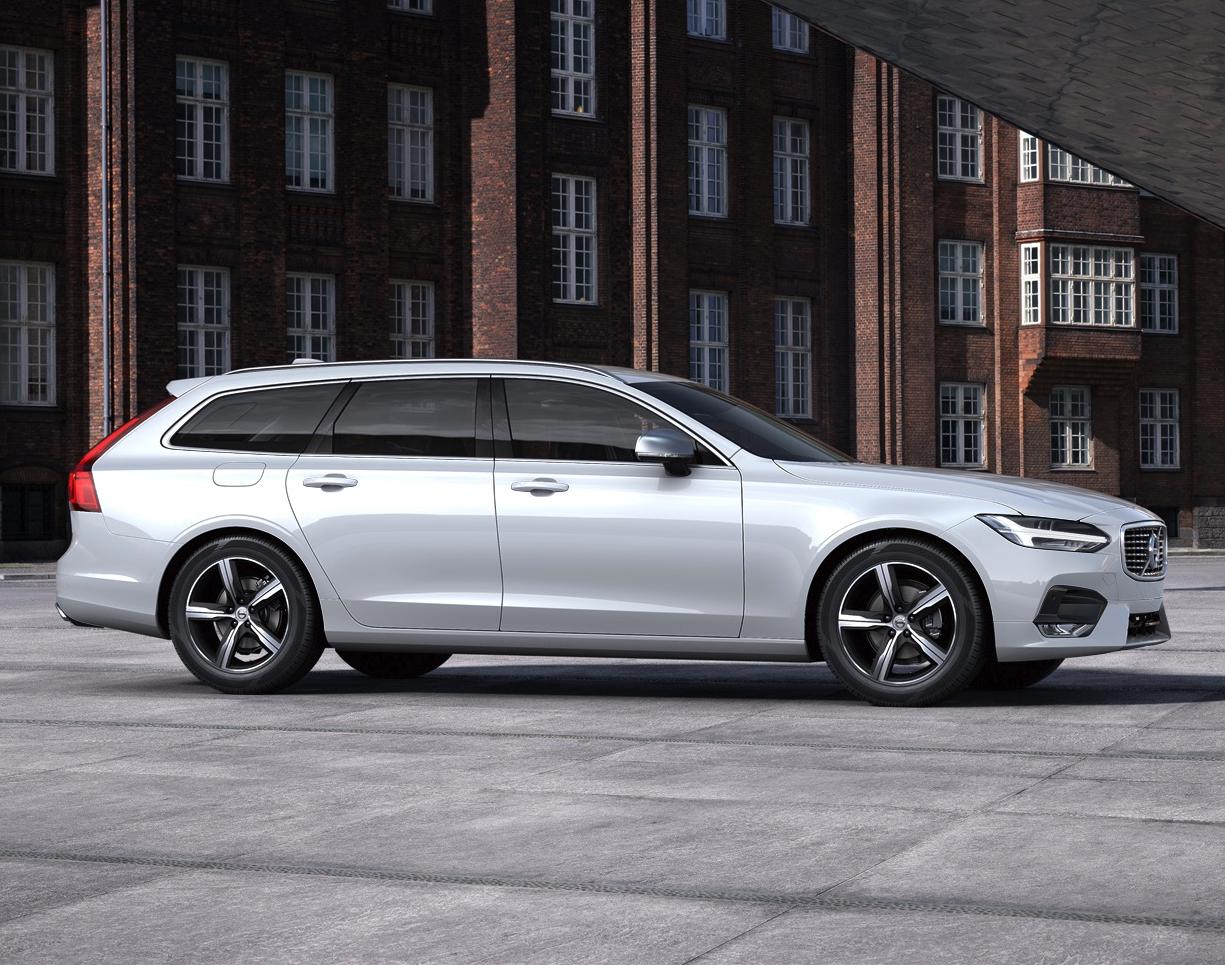 Volvo V90 T4 Geartronic R-Design - inkl. Wartung - für mtl. 309,- brutto (eff.) - LF 0,57 / 10tkm / 24 Monate [Gewerbeleasing]