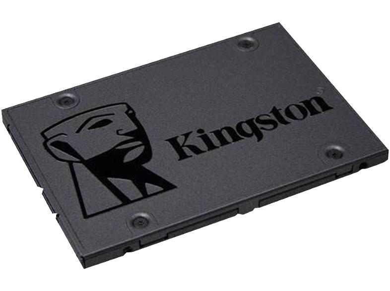 KINGSTON SA400S37, 120 GB SSD, 2.5 Zoll, intern (2D NAND TLC, 3 Jahre Garantie)