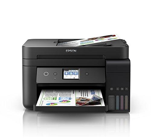 [Amazon.de Blitzangebot] Epson EcoTank ET-4750 4-in-1 Tintentank-Multifunktionsgerät (Kopierer, Scanner, Drucker, Fax, A4, ADF, Duplex)