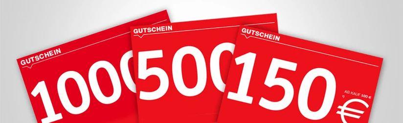 [XXXLutz Online] 30% Gutscheine: 150€ Gutschein bei 500€ MBW / 500€ Gutschein bei 1500€ MBW / 1000€ bei 3000€ MBW (Möbel und Matratzen)