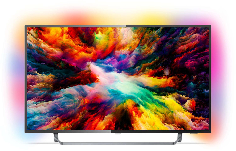 """Philips 50PUS7373/12 - 50"""" 4K UHD TV (VA, Direct LED, 60 Hz, 3fach Ambilight, HDR, Android TV) für 455€ [eBay-Plus@deltatecc]"""