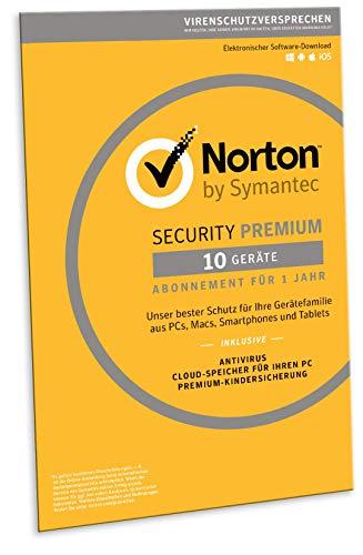 Norton Security Premium 2019 | 10 Geräte | effektiv 2,29€ pro Device/Jahr
