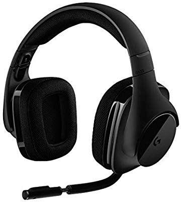 Logitech G533 Gaming Headset (kabelloser DTS 7.1 Surround Sound) schwarz [Amazon]