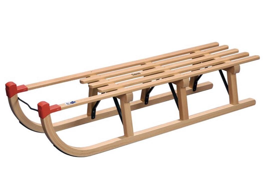 Holzschlitten Davos 110 cm Lidl online VSK-frei