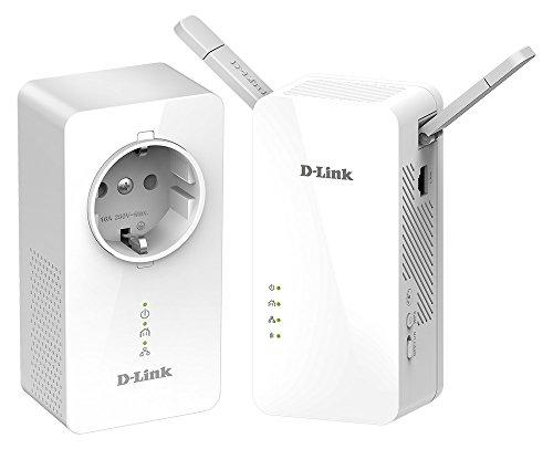 [Amazon.fr Tagesdeal] D-Link PowerLine AV1000 DHP-W611AV Starter Kit RJ-45, 2er-Pack, WLAN