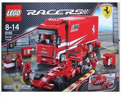 Lego Racers Ferrari Truck (8185)  für 29,99 EUR   @stabilo Markt [lokal]