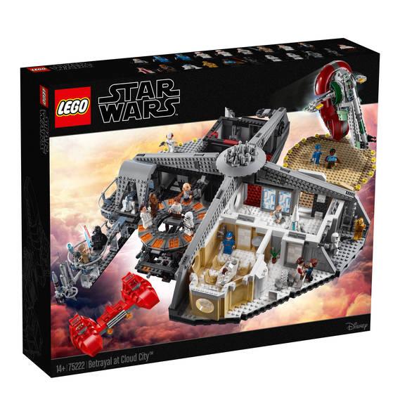 Lego Star Wars 75222 Verrat in Cloud City