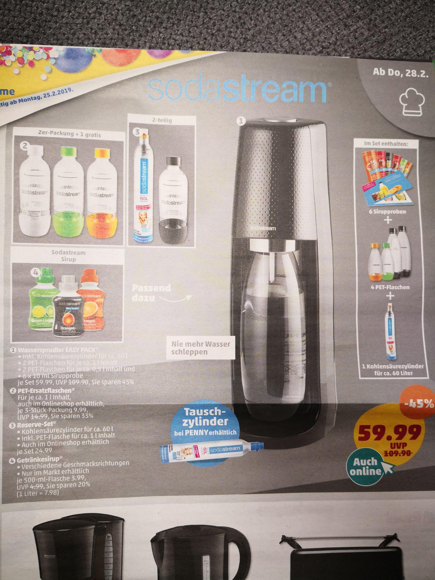 Sodastream Easy Pack - Penny (online & offline)