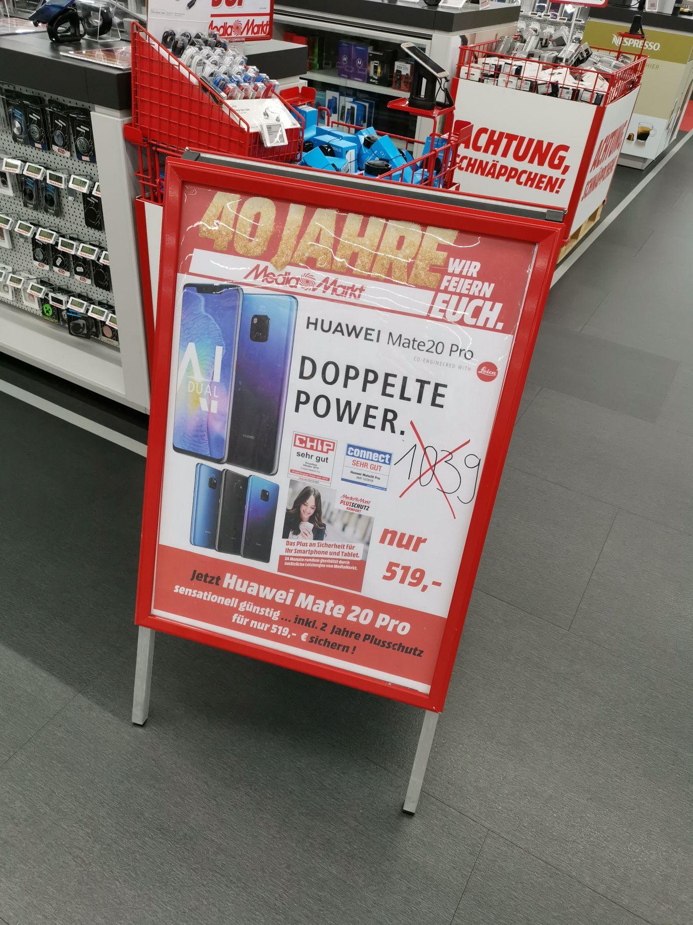 [Lokal Ingolstadt] MediaMarkt Huawei Mate 20 Pro