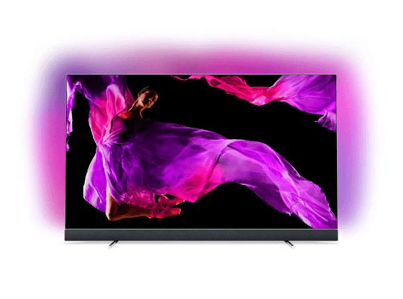 [Saturn, Media Markt] PHILIPS 65OLED903, 164 CM (65 ZOLL), UHD 4K, SMART TV, OLED TV, AMBILIGHT 3-SEITIG, BOWERS UND WILKINS SOUND